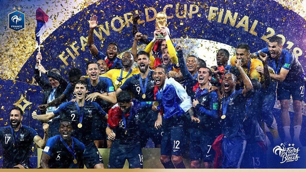 """靠外籍移民 """"发家致富"""" 的法国足球,20年后再捧大力神杯🏆"""