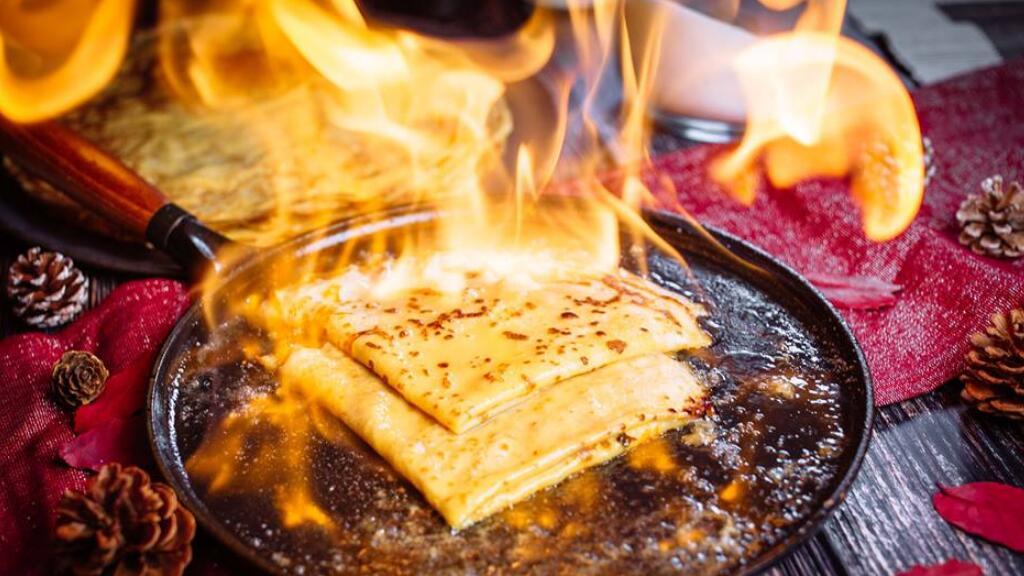 法国小哥手把手教你做法式火焰朗姆可丽饼(¯﹃¯)
