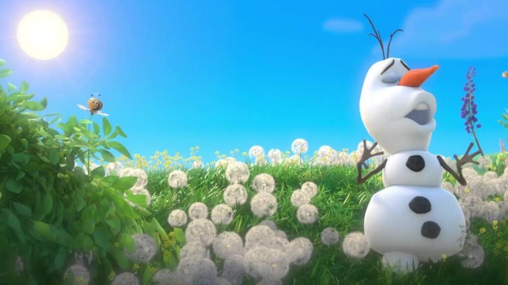 如果把《冰雪奇缘》中的雪宝扔到夏天……