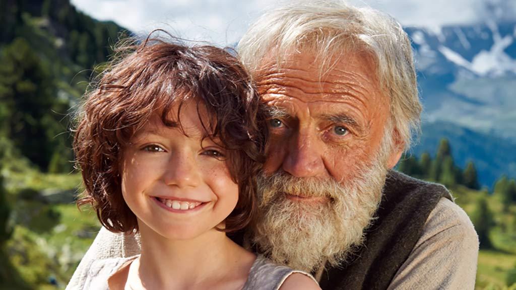 海蒂和爷爷:总会有人路过你的生命,照亮你治愈你 ~