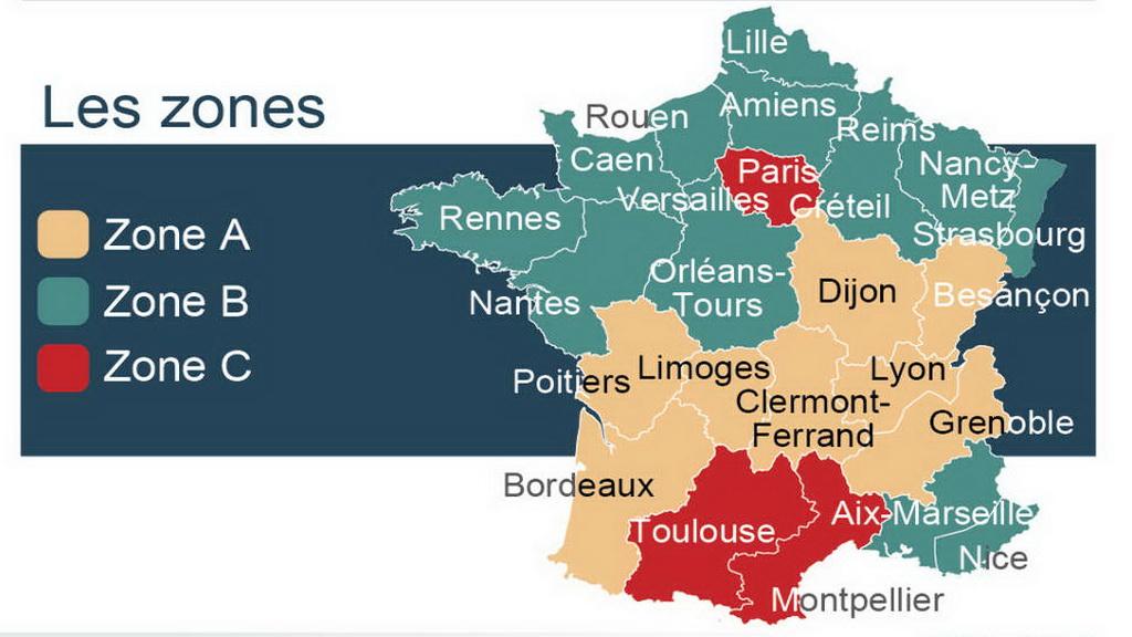 为什么在法国的不同地区,放寒假的时间有先后呢?