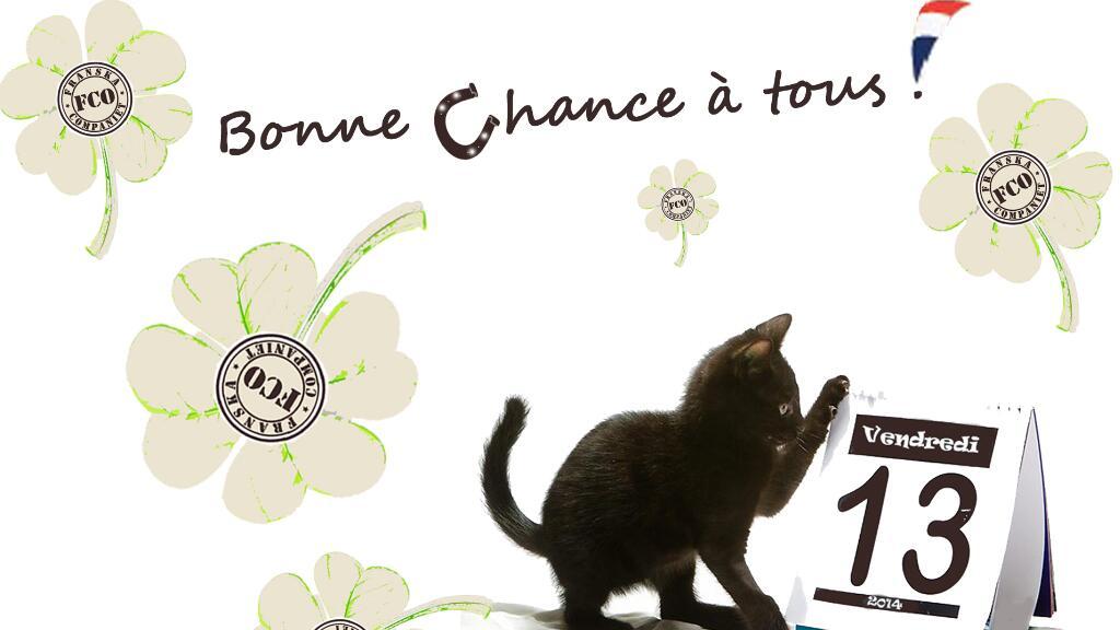 数字13,星期五,四叶草,黑猫……法国人也讲迷信?