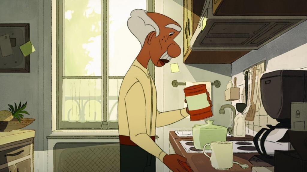 阿茲海默癥可怕嗎?也許只需要愛的便利貼——法國動畫短片《Mémo》