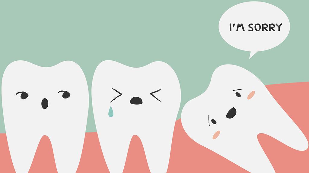 我们为什么会长智齿?👹