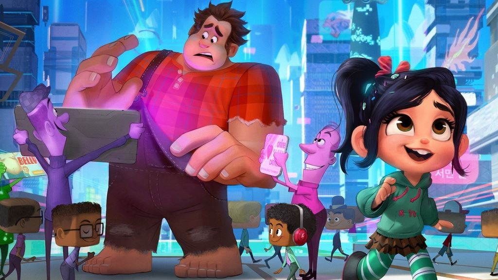 迪士尼新作动画《无敌破坏王2:大闹互联网》,萌死你没商量!