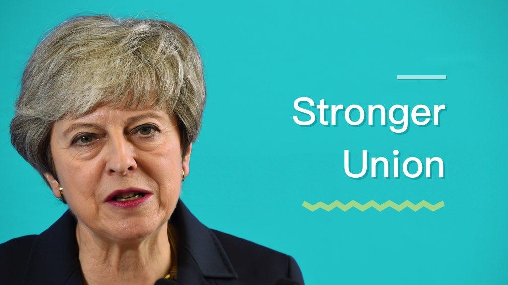 梅姨最后一次苏格兰演讲:联合王国比任何时候都岌岌可危
