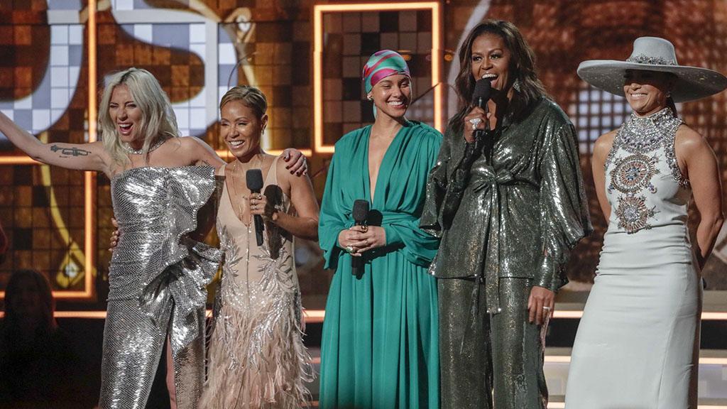 看看谁在第61届格莱美颁奖礼上震撼了全场