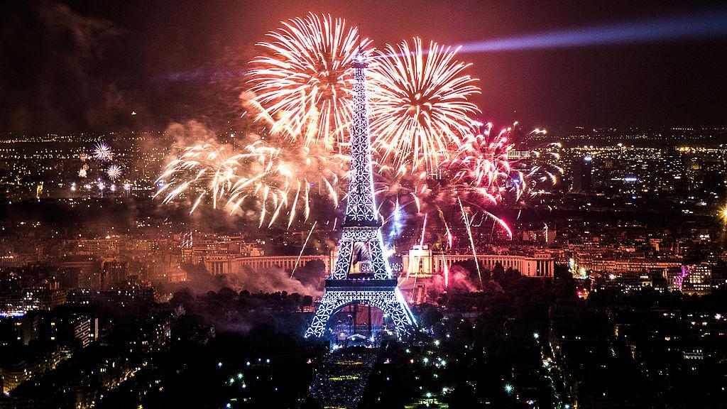🇫🇷7.14法国国庆:你看阅兵和烟花表演了嘛?