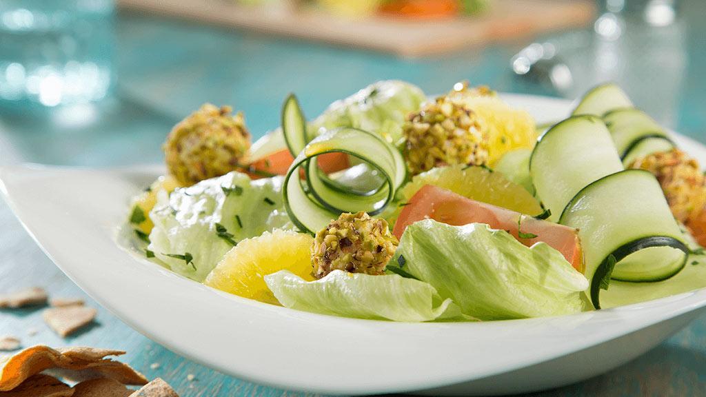 学道健康的蔬菜沙拉,开启元气满满的一周~