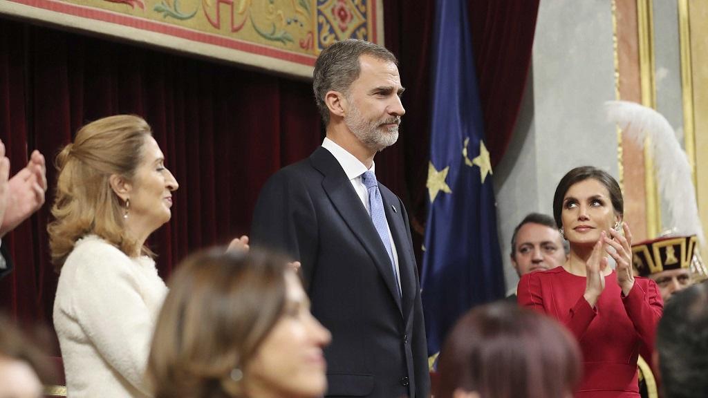 西班牙国王在宪法40周年纪念仪式上发表讲话🎙️